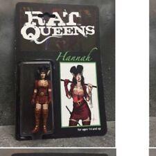 """Custom Vintage Rat Queens Hannah 3.75"""" D&D action figure image comic fantasy SW"""
