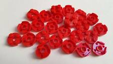 Lego Red Plate Round 2x2, Part 4032, Element 403221, Qty:25 - New