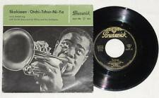 "LOUIS ARMSTRONG Skokiaan 7"" Vinyl Brunswick 1956 Sy Oliver and Orchestra Jazz"