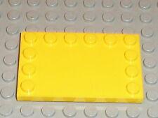 Plaque lisse LEGO technic Yellow Tile 6180 / sets 7632 7685 8459 7249 8464 8439