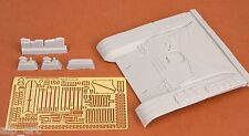 resin and p/e T-72M early front hull armour set for Tamiya kit 1:35 SBS Model