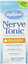Hyland's Nerve Tonic Stress Relief Tablets, Natural Stress Relief Anxiety 500's