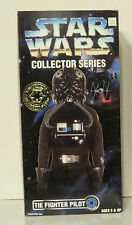 STAR WARS TIE FIGHTER PILOT COLLECTORS SERIES 12 INCH SEALED 1996-97