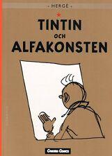 Tim und & Struppi SCHWEDISCH, Tintin och Alfakonsten, Nr. 24, Swedish, RAR