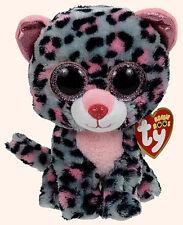 TY Beanie Babies Beanie Boo's Tasha Leopard Beanie Boos Brand New with tags