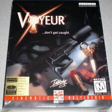 VOYEUR CD-ROM PC Game Philips Interactive VERY RARE / SEALED FULL SIZE - VHTF