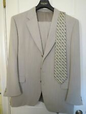 CANALI  ITALIAN SUIT WITH TIE - 40 R/34X31
