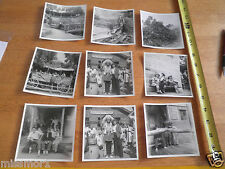 "1950s Knotts Berry Farm Ghost town CA 9 photos 4"" Lot H20 pictures bottle house"