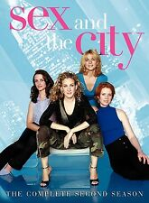 Sex and the City: The Complete Second Season (DVD, 2008, Movie Money) SEALED