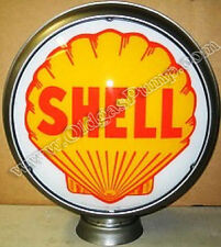 "SHELL GASOLINE 15"" GAS PUMP GLOBE FREE SHIPPING GL-316"