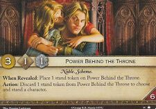 3 x Power Behind the Throne AGoT LCG 2.0 Game of Thrones Core set 18