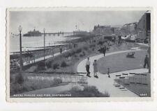 Royal Parade & Pier Eastbourne 1962 Postcard 787a