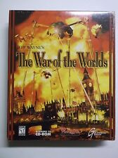 Jeff Wayne's War Of The Worlds Rare BIG BOX PC Game FACTORY SEALED NEW