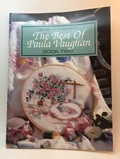 Paula Vaughan' Best Cross Stitch 25 Designs Book Two