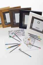 Lovely Mum Adult Colouring Doodle Book and Picture Frame Set *Mothers Day Gift*