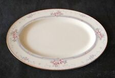 "Noritake Magnificence 14"" Oval Serving Platter"