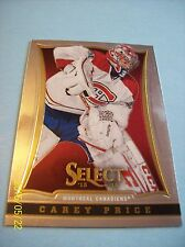 2013-14 Panini Select # 17 Carey Price!