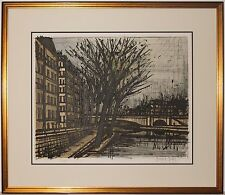 Listed French Artist Bernard Buffet Original Signed Color Lithograph