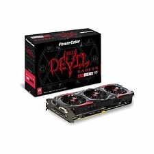 AMD Radeon RED DEVIL RX 480 8GB GDDR5 PCI-Express 3.0 Graphics Card PowerColor