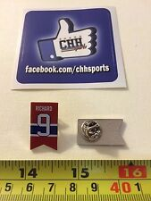 Montreal Canadiens Retired Banner Pin - Épinglette Maurice Rocket Richard #9