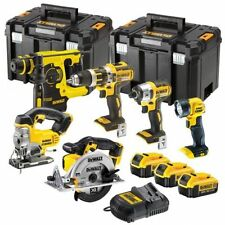 Dewalt DCK699M3T 6 Piece Power Tool Kit + 3 x 4Ah Batteries