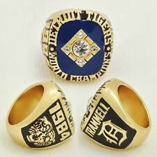 1984 Detroit Tigers World Series Championship Ring Heavy Solid SIZE 11