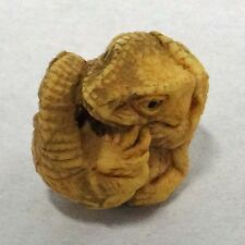 Netsuke Figure Savannah Monitor