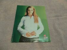 Britney Spears young bop  pinup  clipping #116