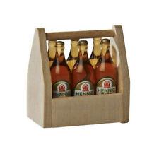 Bodo Hennig 27318 Miniatur Biertragl Bierflaschen 1:12 für Puppenhaus NEU!   #