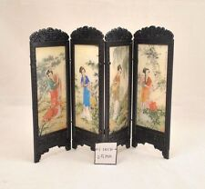 Chinese Screen -Woman dollhouse furniture miniature S8131 1/12 scale