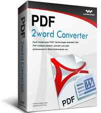 Wondershare PDF to Word Converter WIN lifetime dt.Vollvers.Download nur 14,99 !!