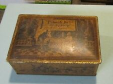 Vintage Pickwick Inn Candy Shop Pictorial Metal Canco Box Greenwich Connecticut