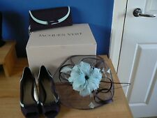 Mother of the Bride Hat, shoes and clutch bag by Jacques Vert