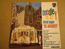 ORGAN 45T EP / STREET ORGAN DE ARABIER - MEDLEY N° 41-42