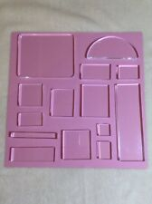 LOT of 14 New Acrylic Blocks ~ Rubber / Polymer Stamping ~ Mixed Media /Planners