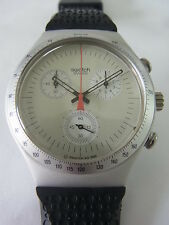 YCS1005 Swatch - 1996 Irony Chrono Time Cut Classic Swiss Made Authentic