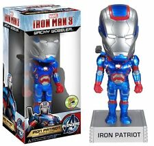SDCC 2013 FUNKO MARVEL IRON PATRIOT METALLIC WACKY WOBBLER ONLY 480 MADE RARE !!