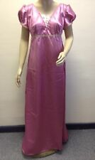 Regency Dress, Jane Austen, Duchess Satin, Plus FREE Daydress, Size 14, Free P&P
