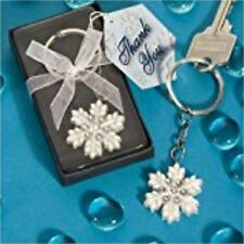 Snowflake Keychain in Gift Box Wedding Party Favor Q11700