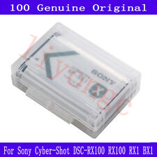 100% New Genuine Sony NP-BX1 Battery For Sony Cyber-Shot DSC-RX100 RX100 RX1 BX1