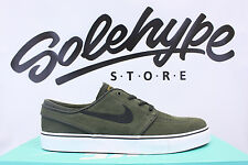 NIKE ZOOM STEFAN JANOSKI SEQUOIA GREEN BLACK METALLIC GOLD SB 333824 307 SZ 7.5