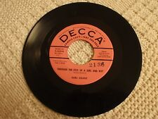 EARL GRANT  THROUGH THE EYES OF A GIRL AND BOY/THANKS FOR YOU  DECCA 30244  M-