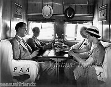 Pan Am Clipper Sikorsky S-42 Airplane Interior Flying Boat 1935 photo