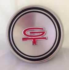 1967-1969 Mustang Turino GT Polished Stainless Steel Hubcap Poverty Center Cap