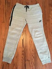 Nike Tech Fleece Pants Men's Large Heather Gray 2013-14