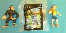 McDonald's Happy Meal Toys Kim Possible set of 3 toys 2003 #6 Shego