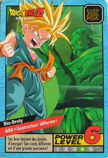 CARTE DRAGON BALL LE GRAND COMBAT N-¦ 600 BIO-BROLY POWER LEVEL 6