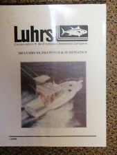 LUHRS 360 SX CONVERTIBLE MANUAL DRAWING SCHEMATICS 2000S MODELS FACTORY WIRING