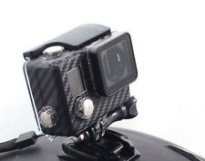 Carbon Fiber Case Sticker compatible with GoPro® Hero4 / Hero3+ Blackout Sticker