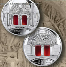 NIUE 2014- Art That Changed the World - 3oz Proof - $10 Romanesque - only 555
